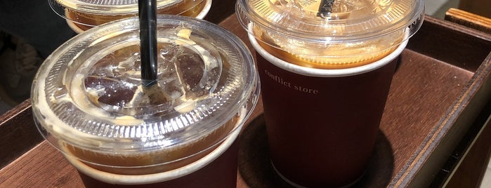 conflict store coffee is one of I Seoul U.