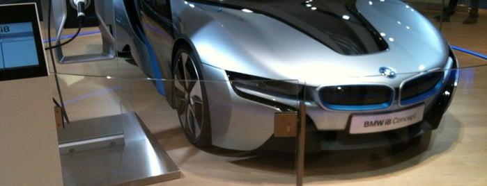 BMW i is one of Munich.