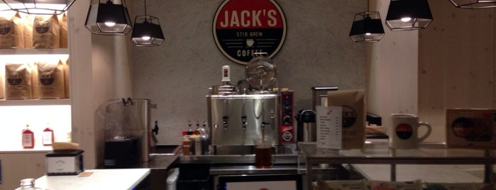 Jack's Stir Brew Coffee is one of Locais curtidos por Rob.