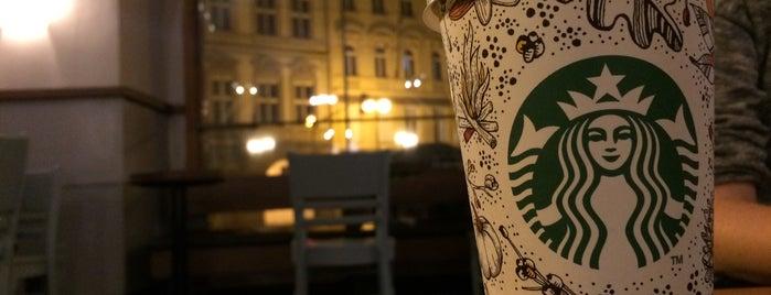 Starbucks is one of Praha - Prague - Praga.