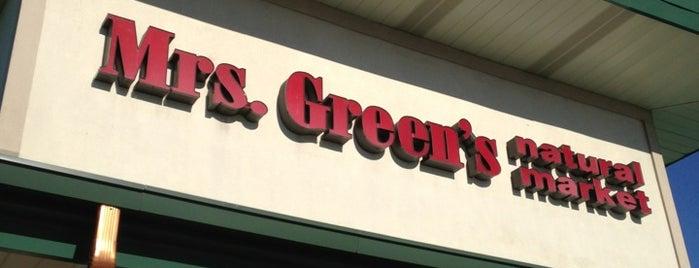 Mrs. Green's Natural Market is one of Tempat yang Disukai Mario.