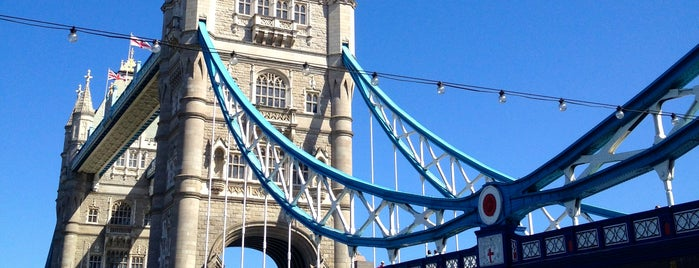 Tower Bridge is one of London city guide.