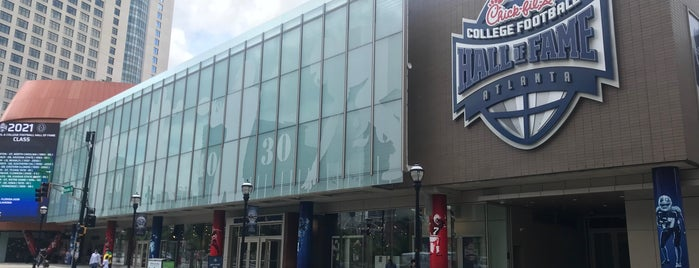 College Football Hall of Fame is one of Top Picks for Sports Stadiums/Fields/Arenas.