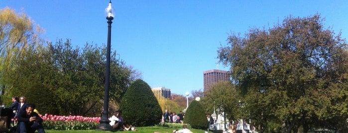 Boston Public Garden is one of Boston: Fun + Recreation.