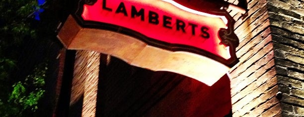 Lambert's Downtown BBQ is one of Todo in Austin.