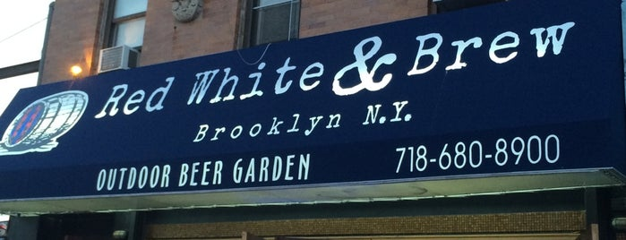Red White & Brew is one of Bars.