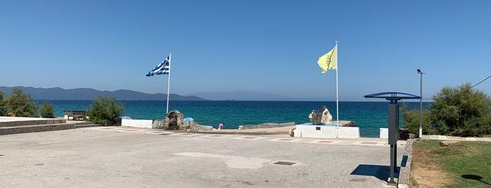 Mouragio is one of Halkidiki.