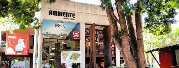 Ambiente Skate Shop is one of Tempat yang Disimpan Fernando.