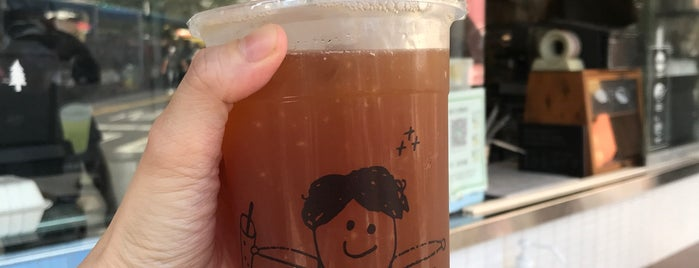 BOG Tea Shop is one of Tainan.