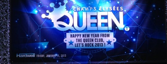 Le Queen is one of Sennheiser's TOP 100 Clubs worldwide.