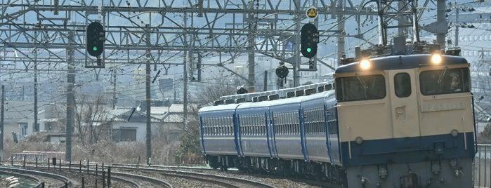 山崎のサントリーカーブ is one of 撮り鉄スポット.