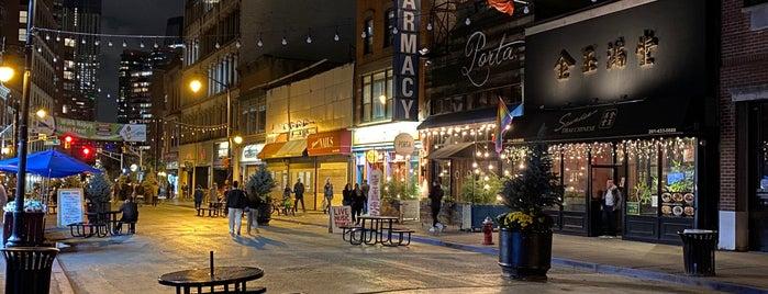 Newark Avenue Pedestrian Plaza is one of Lieux qui ont plu à SKW.