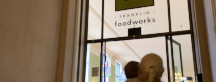 Franklin Foodworks is one of With Art Philadelphia™: Museum Restaurants.