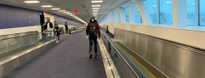 Terminal C/D Walkway is one of Lieux qui ont plu à j.
