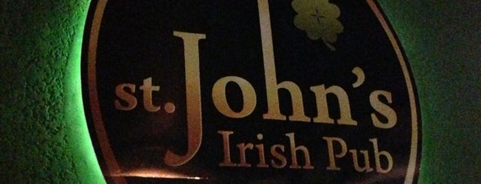 St. John's Irish Pub is one of Locais salvos de Marcia.