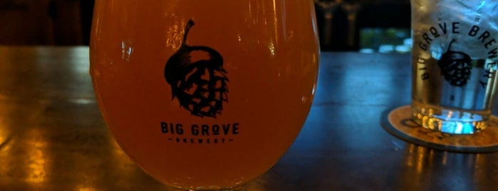 Big Grove Brewery & Taproom is one of Jennさんのお気に入りスポット.