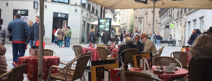 Café Europa is one of Madrid.