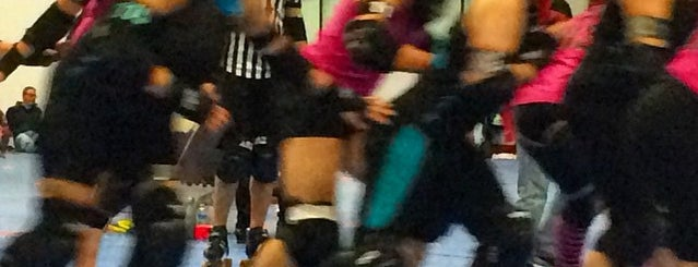 NOVA Roller Derby @ Dulles Sportsplex is one of Orte, die Kellie gefallen.