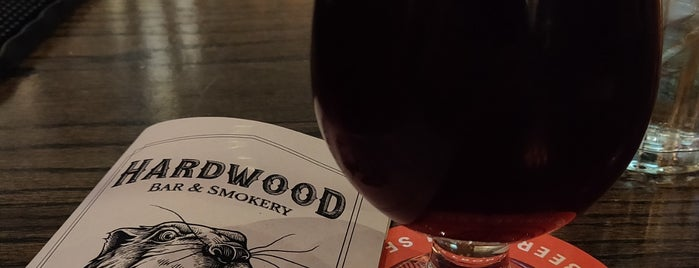 Hardwood Bar & Smokery is one of SF to Try.