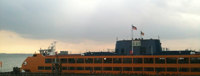 Staten Island Ferry - Whitehall Terminal is one of New York City Tourists' Hits.