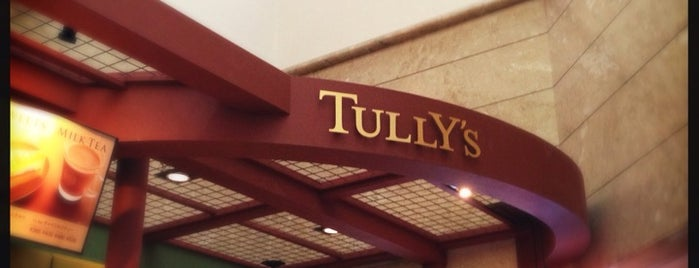 Tully's Coffee is one of Lieux qui ont plu à MK.