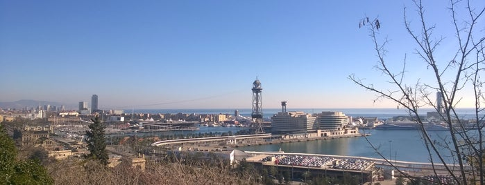 Muntanya de Montjuïc is one of Barcelona.