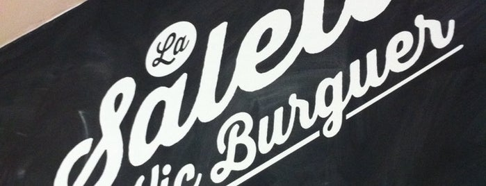 La Saleta Vic Burguer is one of hamburguesa.