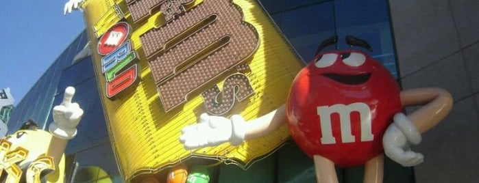 M&M's World is one of Top 10 Vegas Family-Friendly Attractions.