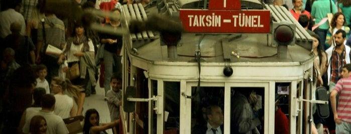 Площадь Таксим is one of En çok check-inli mekanlar.