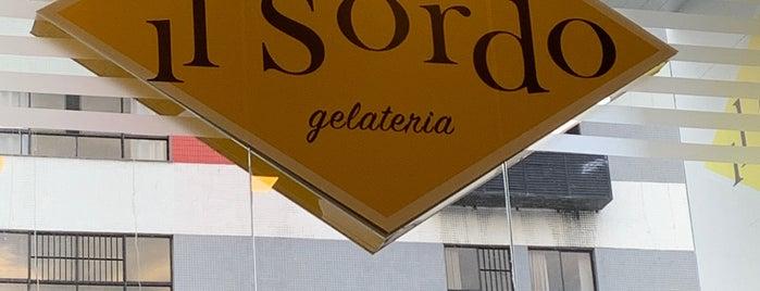 IL Sordo Gelateria is one of Locais curtidos por Voumir.