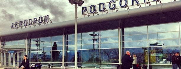 Podgorica Havalimanı (TGD) is one of Airports.