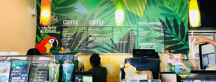 Café Amazon is one of Posti che sono piaciuti a farsai.