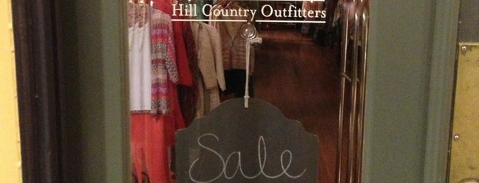 Hill Country Outfitters is one of Lieux qui ont plu à Rita.