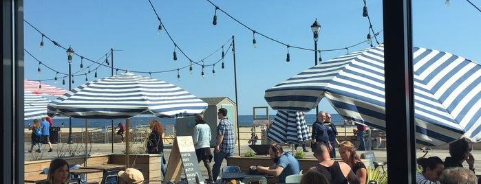 High Voltage Cafe At The Boardwalk is one of Asbury Park.