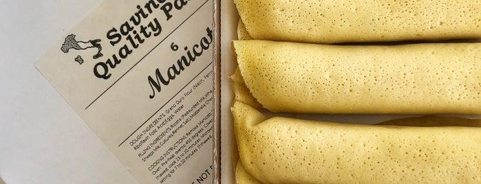 Savino's Quality Pasta is one of To Do BK.