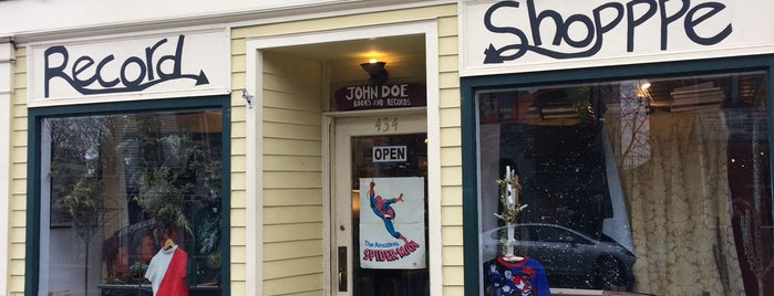 John Doe Records And Books is one of Hudson Valley.