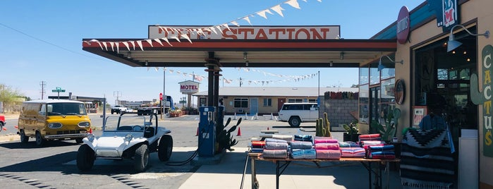 The Station is one of Palm Springs/Joshua Tree.