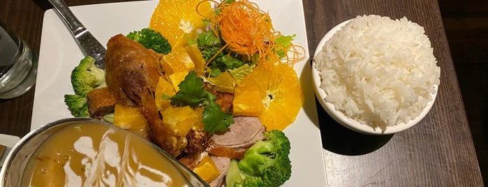 Williamsburg Thai Cuisine is one of Locais curtidos por Globetrottergirls.