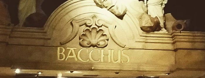 Bacchus Bar is one of Tempat yang Disukai Carl.