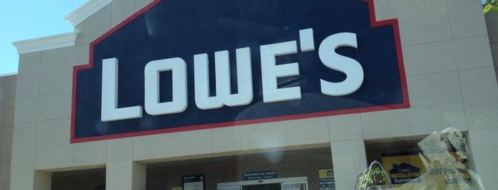 Lowe's is one of Bob'un Beğendiği Mekanlar.