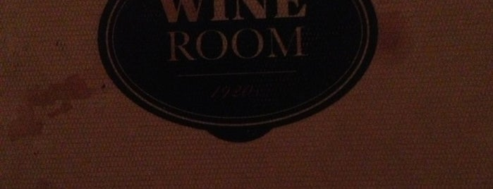 Wine Room 1920s is one of Ichiro's reviewed restaurants.
