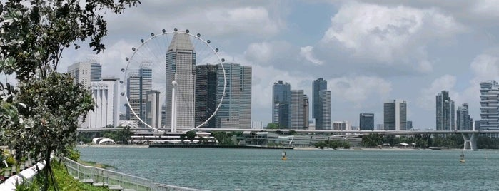Marina Reservoir is one of Singapore.