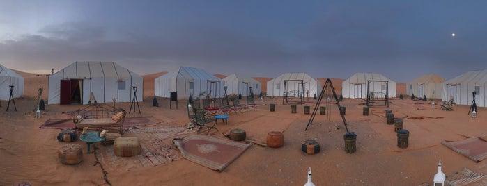 Merzouga Dunes Luxury Camp is one of Morocco 🇲🇦.