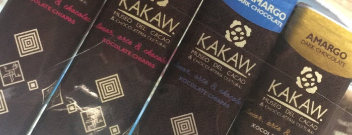 Kakaw, Museo del cacao & chocolatería cultural is one of Aislinn 님이 저장한 장소.