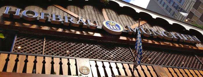 Hofbräu Bierhaus NYC is one of NYC Brunch 🗽☕️.