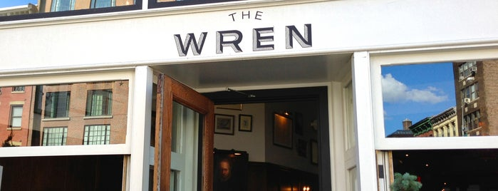 The Wren is one of Manhattan Drinks.
