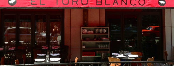 El Toro Blanco is one of New Restaurants to Try.