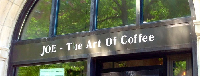 Joe The Art of Coffee is one of NYC grub.