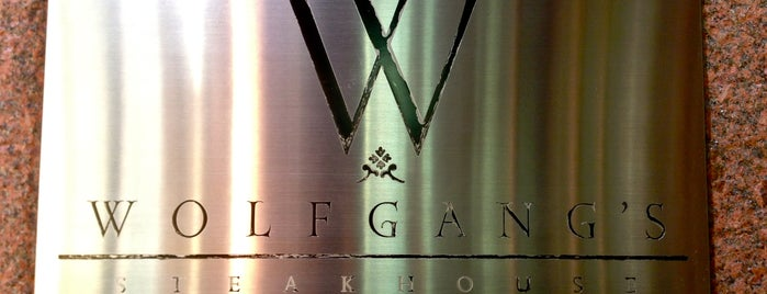 Wolfgang's Steakhouse is one of The Best of Midtown East.