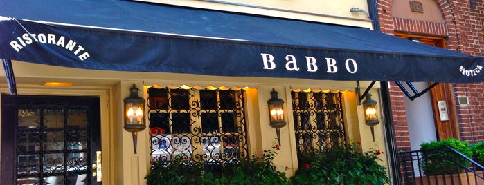 Babbo Ristorante e Enoteca is one of Mayor's Food Waste Challenge.